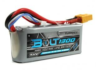 Turnigy Bolt 1300mAh 3S 11.4V 65 ~ 130C High Voltage LiPoly Pack (LiHV)