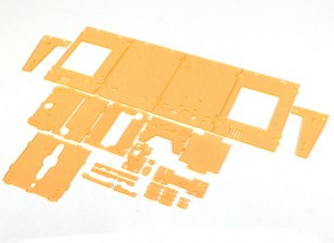 Turnigy Mini Fabrikator 3D-printer v1.0 Spare Parts - Orange Housing
