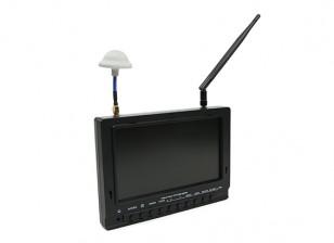 7 inch 800 x 480 40CH Diversity Receiver Zon leesbaar FPV Monitor w / DVR Fieldview 777 (EU Warehouse)