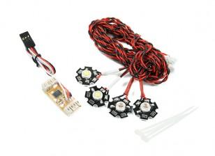 Quanum Quadcopter Navigation LED Light System
