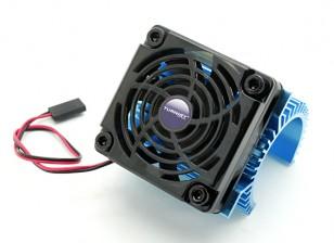 Turnigy heatsink met ventilator voor 36-reeks motoren.