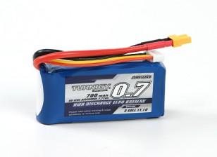 Pack Turnigy 700mAh 3S 60C Lipo (XT30)