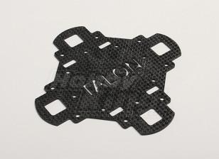 Turnigy Talon Carbon Fiber Main Frame bovenplaat (1pc / bag)