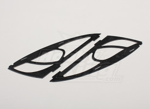 Hobbyking Y650 Scorpion Glasvezel Frame Cheeks (2 stuks / zak)