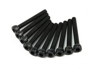 Metal Socket Head Machine Hex Screw M4x30-10pcs / set