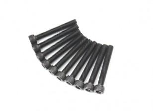 Metal Socket Head Machine Hex Screw M5x36-10pcs / set