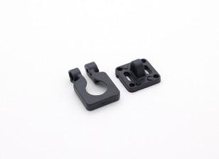 Diatone Camera Lens Verstelbare Mount voor miniatuur camera's (Zwart)