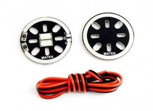 Matek LED Circle X2 / 5V (wit) (2 stuks)