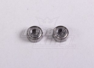 Ball Bearing 5 * 10 * 4mm (2Pc / Tas) - A2016T, A2030, A2031, A2031-S, A2032, A2033, A3002 en A3015