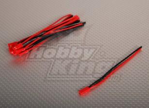 Female JST Battery Pigtail 10cm Lengte (10st / bag)