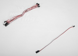 30CM Servo Lead Extention (Futaba) 26AWG (10st / set)