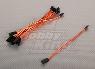 15cm Servo Lead Extention (JR) 26AWG (10st / bag)
