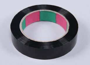 Wing Tape 45mic x 24mm x 100m (Narrow - Zwart)