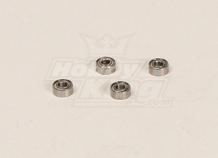 HK600GT kogellagers Pack (3x7x3mm) 4pcs / bag