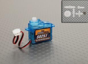 HobbyKing 2.5g / .17kg / .12sec Micro Servo
