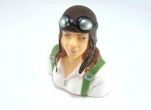Pilot Model (Female) 1/6 (H73 x W63 x D35mm)