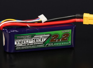 Turnigy nano-tech 2200mAh 4S 25 Pack Lipo ~ 50C