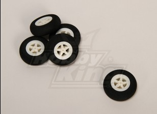 Light Foam Wheel (Diam: 35, breedte: 11mm) (5pcs / bag)