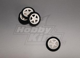 Light Foam Wheel Diam: 60, Breedte: 10mm (5 stuks / zak)