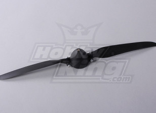 Folding Propeller W / Hub 45mm / 4mm Shaft 13.5x7 (1 st)