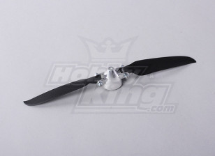 Folding Propeller W / Alloy Hub 35mm / 3mm Shaft 9x5 (1 st)