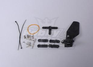 Float Helm (roer) Set voor watervliegtuig drijft (1set / bag)
