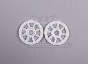 Tarot 450 PRO Main Gear Set (2 stuks) - White (TL1219-01)