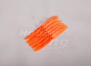 GWS Style Propeller 4.5x3 Orange (CCW) (6 stuks)
