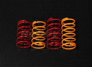 QRF400 Rear Shock Spring Set (37mm x 19,5 mm)