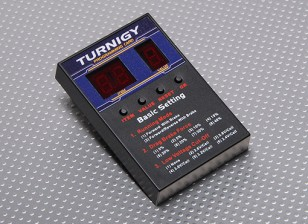 Turnigy Speed ​​Controller Programming Card