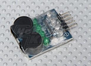 HobbyKing ™ LiPoly Low Voltage Alarm (2s ~ 4s)