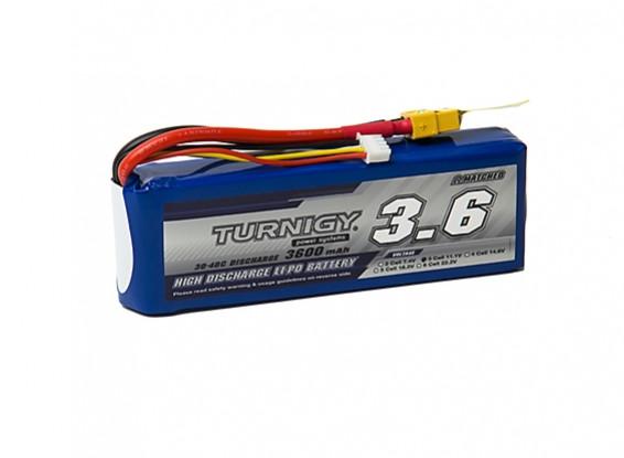 Turnigy 3600mAh 3S 30C Lipo Pack w/XT-60