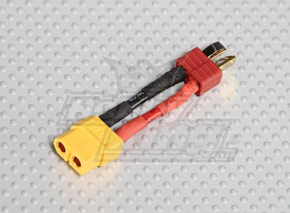 男T型连接器< - >女XT-60(1个/袋)