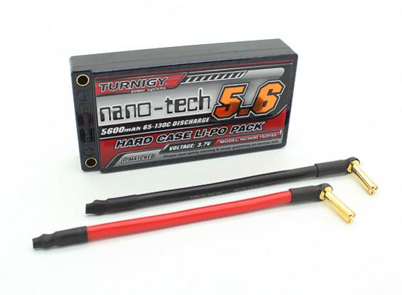 Turnigy纳米技术5600mAh的1S2P 65〜130℃HARDCASE前列包(吼准)