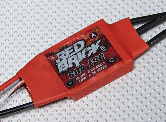 HobbyKing红砖60A ESC(光电)