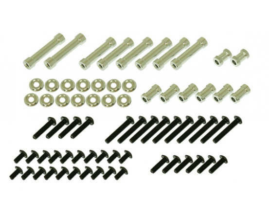 Gaui 425 550 H550垫片和螺丝包CF框架