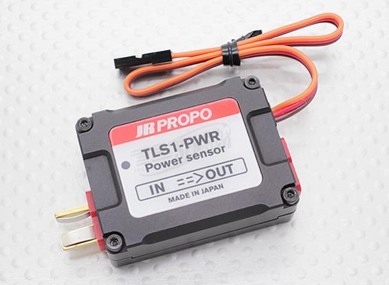 JR TLS1-PWR遥测功率传感器为XG系列的2.4GHz DMSS变送器