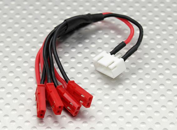 JST-XH到JST LED配电导线(4 JST)