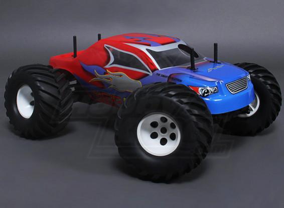 1/10 MG10 MT3 4WD 0.18硝基怪物卡车 - 红色(ARR)