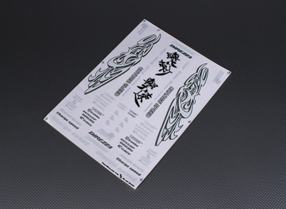 不干胶贴纸片 - 充电速度1/10比例
