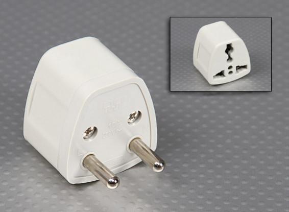 欧洲标准Europlug多标准插座适配器