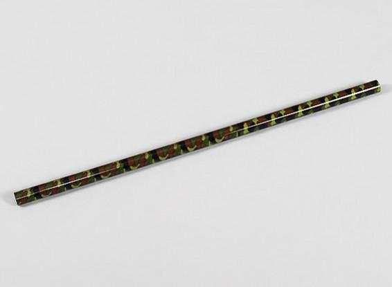 迷彩碳纤维尾管为Trex公司/ HK500直升机