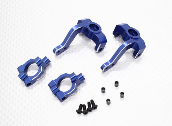 铝转向臂和转向节套装 -  1/10 Quanum防暴四轮驱动赛车越野车