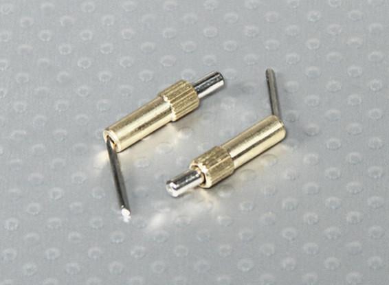 装有弹簧锁冠层小(2PC)