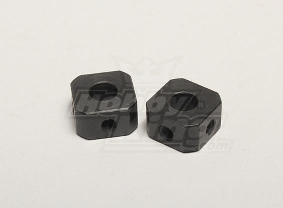 韦宗短轮驱动器(2个) -  Turnigy倍捻机1/5