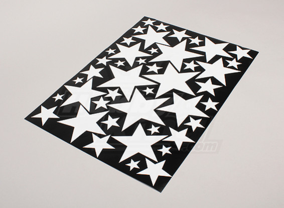 星白/黑各种尺寸贴纸片425mmx300mm