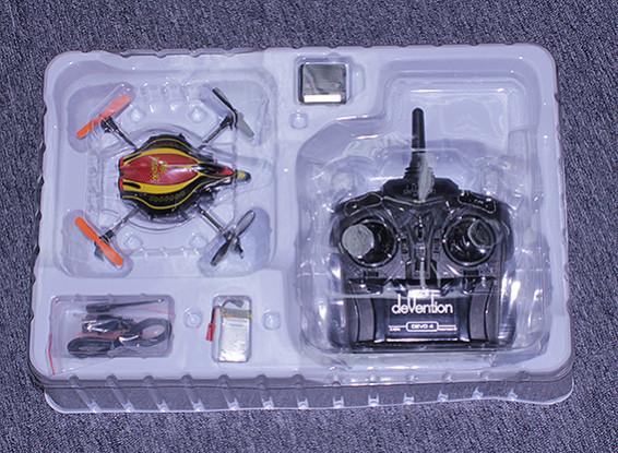 SCRATCH / DENT科尔QR红外个微型四轴飞行器瓦特/ IR和高度保持(模式2)(RTF)