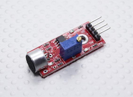 Kingduino高灵敏度麦克风传感器模块