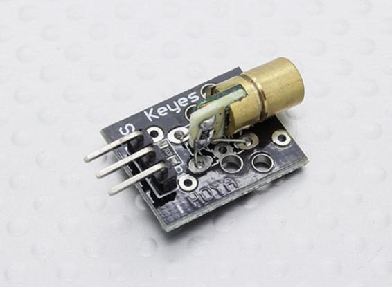 Kingduino兼容5V 650nm的PCB激光二极管模块
