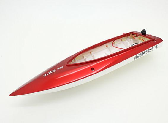蛇2个Mini V-赫尔赛艇360毫米(备用赫尔只)